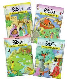 Editura Noua Speranta - Literatura - Mini Biblia mea cu autocolante Biblia, Literatura