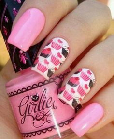 50 Ideas para pintar uñas de color rosa   Pintar Uñas