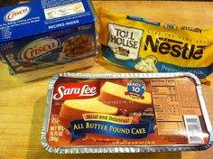 "White Chocolate Petit Fours Recipe (Sara Lee Pound Cakes ""Share The Sweetness"" Recipe Contest) — MomStart"