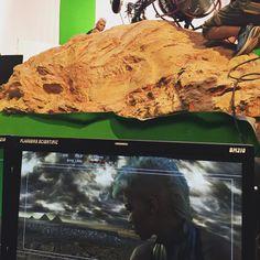 Storm watching over Cairo in X-Men Apocalypse behind the scenes