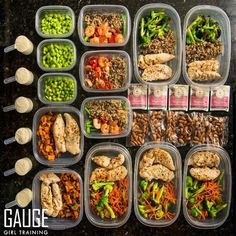 Meal prep for lunch