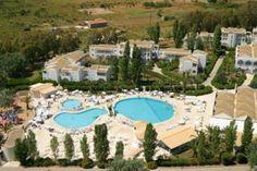 Aquis Sandy Beach Resort - Corfu Sandy Beach Resort, Corfu Island, Greece Hotels, 5 Star Hotels, Good Night Sleep, Explore, Mansions, House Styles, Places