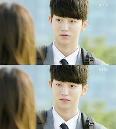 He is Han Yi An at drama who are you: school I falling in love with him right now. His real name is nam joo hyuk, he is model and actor. Falling In Love With Him, I Fall In Love, Nam Joo Hyuk Lee Sung Kyung, Who Are You School 2015, Master's Sun, Nam Joohyuk, Drama School, Korean Entertainment, High School Students