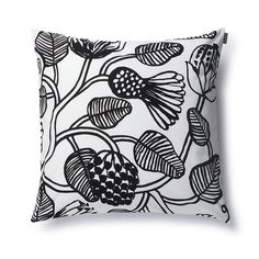 Tiara Cushion - Marimekko Cushions - Novelties and Limited editions Marimekko, Black Bolt, Black And White, Cushions On Sofa, Throw Pillows, Contemporary Cushions, Scandinavia Design, Home Catalogue, Cushion Covers