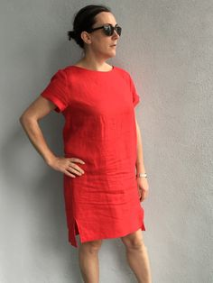 Inari Tee Dress | Sew South London  Such a chic dress