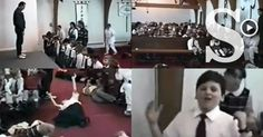 En redes sociales circula un extenso video que abre el debate sobre la participación de los menores en los cultos religiosos