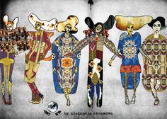 "Alexandra Avramova - ""Army of ME""  #fashiondesigner"