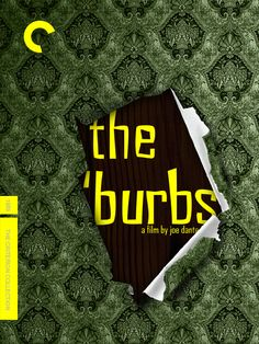 The Burbs 1989. The Criterion Collection, The 'burbs, Inspirational Movies, New Start, Movie Tv, Films, My Love, Tube, Movie Posters