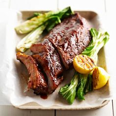 Red Chili-Rubbed Baby Back Ribs From Better Homes and Gardens, ideas and improvement projects for your home and garden plus recipes and entertaining ideas.