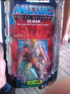 He-man MOTU Aniversary re-edition