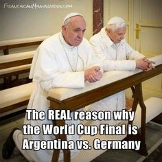 World Cup Popes!