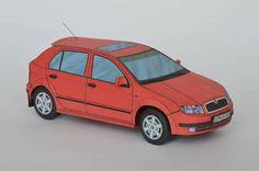 Škoda Fabia Paper Car Ver.2 Free Vehicle Paper Model Download
