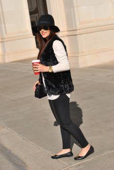A Thread Of Couture - Faux Fur Vest