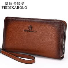Mens' Luxury PU Leather Wallet //Super Sale: $154.00 (was $228.41) & FREE Shipping //     #ChicBay.com