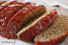 Best homemade meatloaf recipe ever—super moist with minced veggies #homecooking