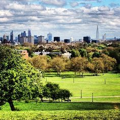 Primrose Hill- London, England. One of the best views in the city.