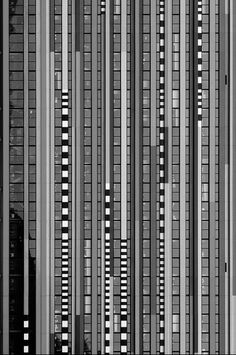 This image makes me think of glitches, the straight lines are stunningly composed and captured. Utrecht, Photo D'architecture, Facade Pattern, Architectural Pattern, Building Facade, Brick And Stone, Facade Architecture, Brutalist, Beautiful Buildings