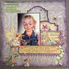 Graphic 45 Fairy Dust Collection. Click to see complete supply list at Scrapbook.com.  #scrapbookcom #stamping #birthdaycards #cardmaking #lifehandmade