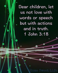 Love in action was Christ dying on the cross for you and me. Bible Verses Quotes, Bible Scriptures, Scripture Verses, Religious Quotes, Spiritual Quotes, Back In The 90s, Bible Prayers, All That Matters, Spiritual Inspiration