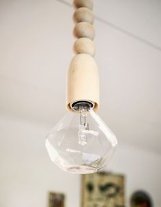 Love the halogen light idea here-CB. DIY by gretchengretchen.com photo by Kreetta Järvenpää