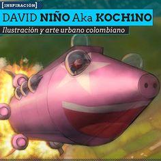 Ilustración y arte urbano de DAVID NIÑO Aka KOCH1NO Personajes, técnica manual y digital, y talento desde Bogotá.  Leer más: http://www.colectivobicicleta.com/2013/07/Ilustracion-de-DAVID-NINO-KOCH1NO.html#ixzz2Y1NY2Faq