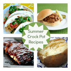 Summer Crock Pot Recipes| Spoonful