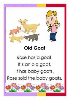 Easy reading for beginning readers. Here are some English reading passages your kids can use to practice reading and comprehension. Kindergarten Reading Activities, Phonics Activities, Teaching Reading, Reading Comprehension Worksheets, Reading Passages, Reading Lessons, Reading Skills, 1st Grade Worksheets, Grammar Worksheets
