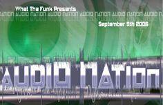 Audio Nation Rave Flyer