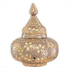 Moroccan Decor – Bedside Lamp – Boho Decor – Turkish Lamp - All For House İdeas Moroccan Pendant Light, Round Pendant Light, Moroccan Lighting, Outdoor Candle Holders, Outdoor Candles, Candle Lanterns, Moroccan Table Lamp, Moroccan Decor, Casablanca