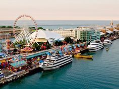 Navy Pier--not really too interested, but since everyone talks about it maybe I want to go to just say I've been there...600 E Grand Ave, Chicago, IL 60611