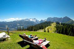 Hotel Kronenhirsch in Russbach, Dachstein West Salzburg Austria, Outdoor Furniture, Outdoor Decor, Alps, Hiking, Mountains, Holiday, Nature, Travel