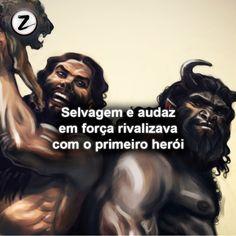 #enkidu #gilgamesh #mitologia #mitozlendas