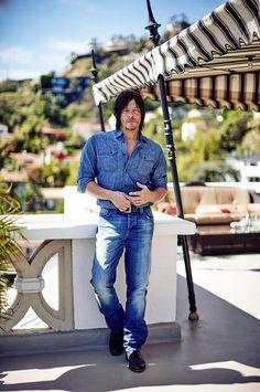 Norman Reedus for Vanity Fair http://www.vanityfair.it/show/tv/15/03/25/norman-reedus-intervista-walking-dead-foto