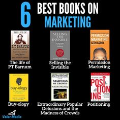 Here are my top 6 picks for best marketing books. - - - Follow👇👇👇👇 @valermedia  @valermedia  @valermedia  @valermedia / I help local businesses and e-commerce to generate revenue with Chatbots, Facebook/Instagram/LinkedIn/Click-to-Messenger ads. Inquiry on ruslnagalba.com Top Books To Read, Books To Read In Your 20s, Good Books, Best Books For Men, Marketing Quotes, Marketing Books, Entrepreneur Books, Self Development Books, Thriller Books