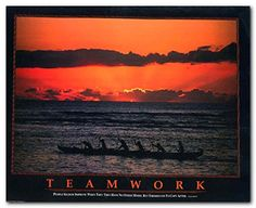 "Teamwork"" People Seldom improve when they have no other model but themselves to copy after. Coming Together Is a Beginning. Keeping Together is Progress. Working Together is Success. This poster will really motivate us Then quickly purchase And on the walls of the house to give to growth. This nature inspired wall art will look great in your living room, a spare bedroom or even in your entryway spaces or office."