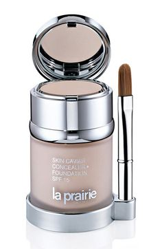 it may be on the pricey side but it works!!! La Prairie Skin Caviar Concealer Foundation SPF 15 available at #Nordstrom