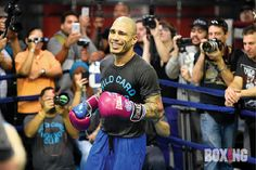 PHOTOS Miguel Cotto and Daniel Geale media workout - | Boxing News - boxing news, results, rankings, schedules since 1909