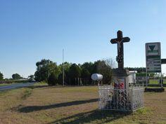 Kereszt Zákányszék mellett (Roadside cross close to Zákányszék)