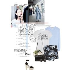 """New Investment Piece: The """"Skort"""" by sarahstardom on Polyvore featuring polyvore, fashion, style, Chanel, Burberry, Nicholas Kirkwood, Yves Saint Laurent, Khai Khai, The Row and Kate Spade"""