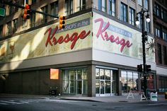 Kresge Building, Detroit, MI.  Kresge's was a chain of dimestores in MI, and the forerunner of Kmart.  I remember shopping with my mom at the Kresge's in Saginaw, MI as a kid.