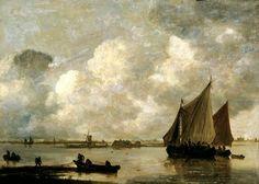 Jan van Goyen, Mar de Haarlem
