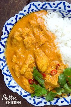 Indisches Butterhuhn - Murgh Makhani - Madame Cuisine - The Best Simple Recipes Rice Recipes, Indian Food Recipes, Pasta Recipes, Chicken Recipes, Dinner Recipes, Cooking Recipes, Healthy Recipes, Recipe Chicken, Oven Recipes