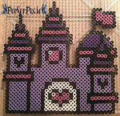 Purple Princess Castle by PerlerPixie on DeviantArt