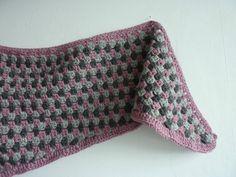 Granny shawl - Au bout de la pelote...