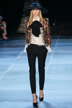 Is this for real?? I'm obsessed. Saint Laurent spring 2013