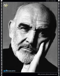 Sean Connery.... he is extremely talented and he got more gorgeous the older he got and seriously all he has to do is talk :)