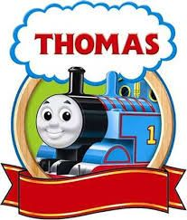 Thomas the Tank Engine and his sodor train friends products. Thomas The Train Birthday Party, Trains Birthday Party, Train Party, 4th Birthday, Birthday Party Themes, Cartoon Clip, Thomas The Tank, Thomas And Friends, Personalized T Shirts