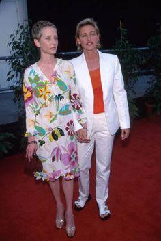 Anne Heche & Ellen DeGeneres