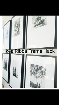 Ikea Ribba Frame Hack // Offsetmatte // Fotowand // Galeriewand Source by ycphotography Ikea Photo Frames, Ikea Picture Frame, Ikea Frames, Ikea Ribba Frame, Picture Walls, Ikea Gallery Wall, Gallery Wall Frames, Frames On Wall, Gallery Walls
