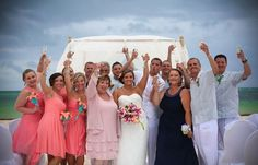 Amy & Anthony's destination wedding in Punta Cana, beach wedding in Punta Cana, Punta Cana wedding ideas @destweds